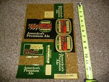 Rare Sales Rep Genesee 12 Horse Ale Store Point of Purchase Marketing shelf tags
