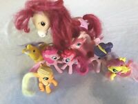 Lot of My Little Pony And Other Figures Horses Play Pretend