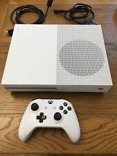 MICROSOFT Xbox One S - 1 TB - Console With White Controller Original Box Used