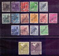 Berlin 1948 - MiNr. 1/18 ohne 6 rund gestempelt geprüft - Michel 870,00 € (029)