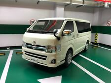 Toyota Hiace 200 series GL white 1/18 model car Kyosho samuari