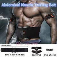 Stimulator EMS Abdominal Muscle Training Gear Toner-Core Toning ABS Workout Belt