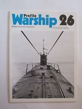 Warship Profile 26: Rubis, Free French Submarine