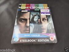 Blu Ray Money Monster Steelbook Edition Brand New Sealed
