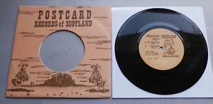 "Josef K - It's Kinda Funny UK 1980 Postcard Reissue 7"" Single"