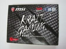 MSI B250 KRAIT GAMING Intel LGA 1151 DDR4 ATX Motherboard [SEE DESCRIPTION]