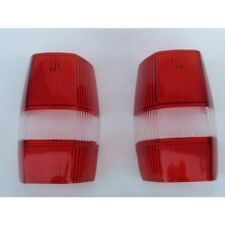 Pair of Red Taillight Lens fits Mercedes 190sl W121 ponton