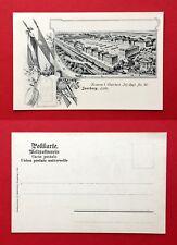 AK SAARBURG in Lothringen um 1900 Kaserne I. Oberrhein mit Schulterstück ( 39962
