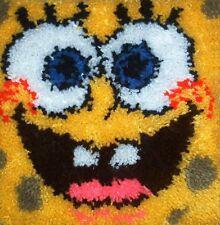 Spongebob 12X12 Latch Hook Kit - Free S&H