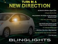 Toyota Prius LED Mirrors Turnsignals Lights Side Mirror Turn Signals Lamps
