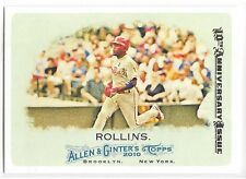 2015 Topps Allen & Ginter A&G Jimmy Rollins 2010 10th Anniversary Buyback