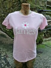 More details for ladies james tim booth the band 1990 style tee t shirt retro madchester hacienda