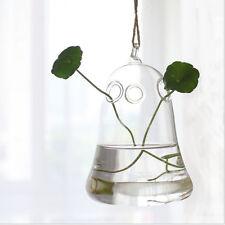 Clear Flower Hanging Vase Planter Terrarium Container Glass Home Party Decor #2