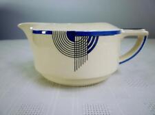 ROYAL DOULTON TANGO COBALT BLUE GRAVY OR SAUCE BOAT / JUG - ART DECO # D5564