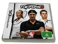 Top Spin 3 DS 2DS 3DS Game *Complete*
