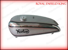 Norton Model 18 Chrome and Silver Painted Gas Tank 1930's (Repro)