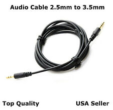 5 FT Audio Cable Cord Aux for Bose Soundlink 2 Headphones 2.5mm to 3.5mm