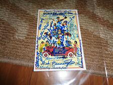 Signed Negro League Baseball 30+ Autograph Photo Bingo Long Movie Sports WOW