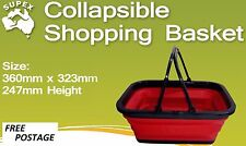 Supex Collapsible Shopping Basket Brand NEW Camping Outdoors