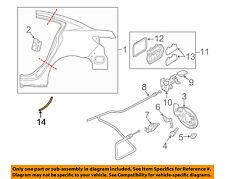 MAZDA OEM 10-13 3 Exterior-Stone Deflector Guard Left BBM4504R2A
