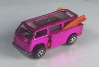 Restored Hot Wheels Redline - 1969 - Volkswagen Beach Bomb - Pink