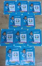 Euro 2020 Preview ~ Panini Sticker Collection ~ 10 x Sealed Packs = 50 Stickers