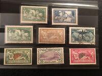 AVO ! [1400] FRANCE lot timbres bonnes valeurs * et O orphelin merson CA 321 ++