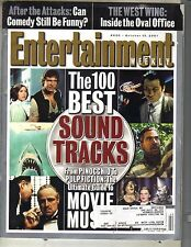100 BEST SOUNDTRACKS Entertainment Weekly Magazine 10/12/01 MOVIE MUSIC ISSUE PC