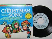 The Christmas Chestnut Roasting Song,Wonderland Records,45