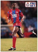 Eric Young Crystal Palace #256 Pro Set Football 1991-2 Trade Card (C364)