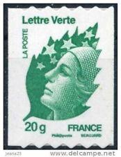 TIMBRE FRANCE AUTOADHESIF 2011 N° 0608NEUF** Marianne de BEAUJARD de roulette