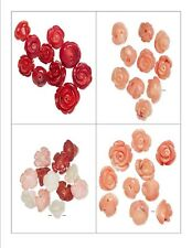 Beads BAMBOO CORAL FLOWER / Flowers Bead ~ Various Sizes & Colors