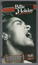 COFFRET 4 CD ★ BILLIE HOLIDAY - STORMY WEATHER ★ LONG BOX