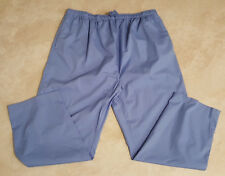 Men or Women's New Plus Size Draw String Scrub Pants: Xs-3X