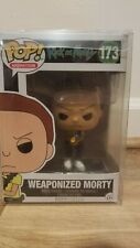 Funko Pop Animation Rick and Morty: Weaponized Morty Action Figure