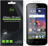 6-Pack Dmax Armor HD Clear Screen Protector shield for ZTE Majesty Pro Plus