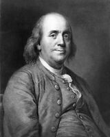 BENJAMIN FRANKLIN 8X10 PHOTO PICTURE PRINT 28012001367