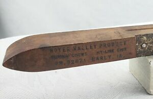 VINTAGE WOOD LEVEL Advertising EARLY IOWA PURINA CHOWS HY-LINE CHIX BOYER VALLEY