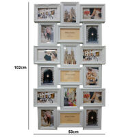 18 Multi Aperture Photo Frame Family Love Friends Party Wall Mounted Memories