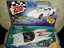 SPEED RACER MACH 5 PLAY SET SPRIDLE & CHIM CHIM FIGURES New Open Box