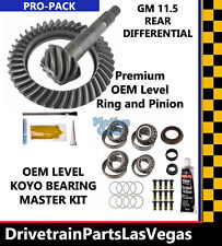 "GM 11.5"" Pro Pack Ring & Pinion Gear Set Master Install Kit OE Level 3.73 Ratio"