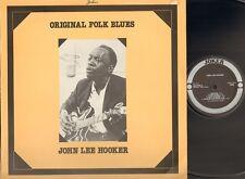 JOHN LEE HOOKER Original Folk Blues LP 1968-1975 JOKER Italy