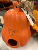 Rae Dunn HOME PUMPKIN Birdhouse Orange Fall Thanksgiving By Magenta LL Gourd