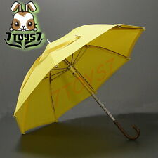 Wild Toys 1/6 Umbrella_ Yellow _with Real Metal & Foldable Working Bid WT010J