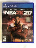 NBA 2K20 PS4 (SONY PLAYSTATION 4, 2019) BRAND NEW! SEALED! FREE SHIPPING!