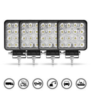 4X 48W 4in LED Work Light Spot Bar Fog 4WD SUV ATV Truck Offroad Driving Lamp
