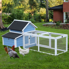 Chicken Coop Run House Hutch Animal Cage Poultry Nest Large 180cm