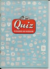 association of american railroads,soft cover booklet from 1950 quiz on railroads