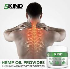 Gel actif Pour Soulager Articulations Muscles Formule à l'huile Cannabis 300 ml