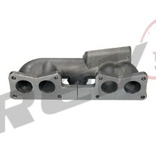 REV9 89-90 240SX S13 CAST IRON TOP MOUNT TURBO MANIFOLD T3 SINGLE CAM KA24E KA24